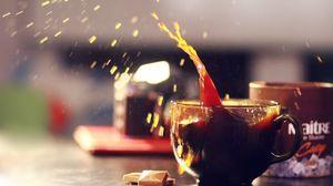 Preview wallpaper tea, drink, chocolate, clove