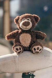 Preview wallpaper teddy bear, toy, cute