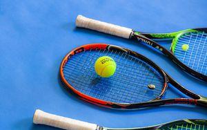 Preview wallpaper tennis, rackets, ball, sports