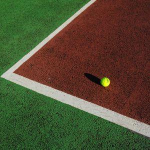 Preview wallpaper tennis, tennis ball, ball, court