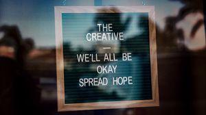 Preview wallpaper text, positive, inscription, words, blur