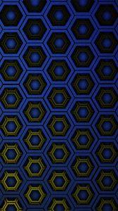 Preview wallpaper texture, hexagons, cells, gradient