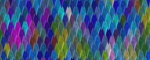 Preview wallpaper texture, pointy, multicolored, shapes