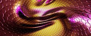 Preview wallpaper texture, scales, wavy, relief, 3d