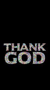 Preview wallpaper thank, god, prayer, inscription