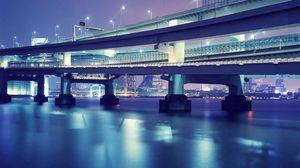 Preview wallpaper tokyo, bridge, beautiful
