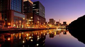 Preview wallpaper tokyo, japan, city, night