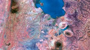 Preview wallpaper aerial view, abstraction, earth