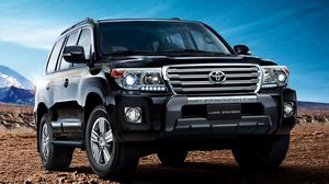 Preview wallpaper toyota, land cruiser, 200, vx-r, suv, front view