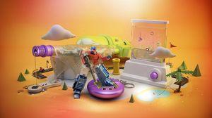 Preview wallpaper toys, childhood, diversity, plastic
