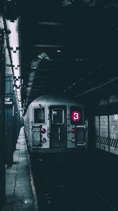 Preview wallpaper train, subway, underground