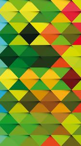Preview wallpaper triangle, background, colorful, texture