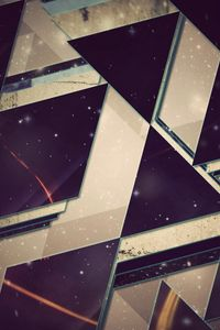 Preview wallpaper triangles, background, light