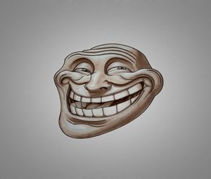 Preview wallpaper troll, face, smile