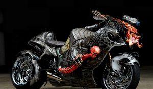 Preview wallpaper tuning, sport bike, airbrush, design