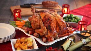 Preview wallpaper turkey, roast, poultry, dinner