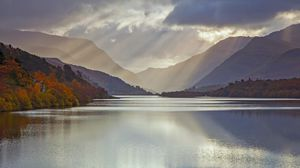 Preview wallpaper uk, glacial lake, wales, gwynedd county, snowdonia region