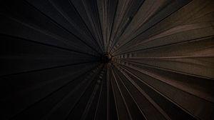 Preview wallpaper umbrella, aerial view, black