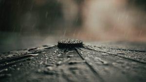 Preview wallpaper umbrella, rain, drops, macro