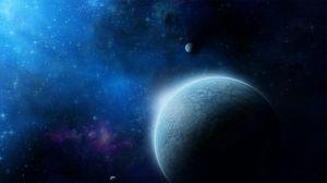 Preview wallpaper universe, planets, galaxies, stars, nebula