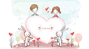 Preview wallpaper valentines day, heart, recognition, love