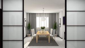 Preview wallpaper vase, design, interior design, house, carpet, bathroom, furniture, plants, flowers, style, chair, plate, tv