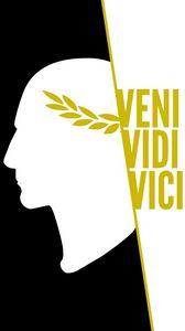 Preview wallpaper veni vidi vici, julius caesar, art