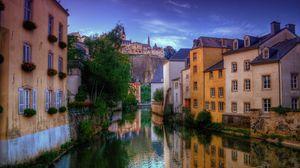 Preview wallpaper venice, house, river, venetian canal