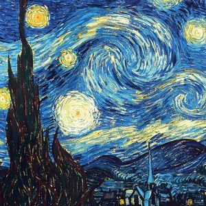Preview wallpaper vincent van gogh, the starry night, oil, canvas
