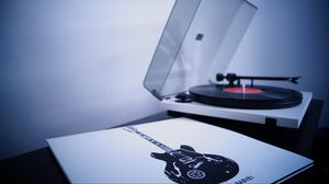 Preview wallpaper vinyl, turntable, record
