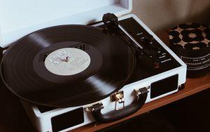 Preview wallpaper vinyl turntable, turntable, record, vinyl, music