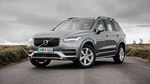 Preview wallpaper volvo, xc90, silver, side view