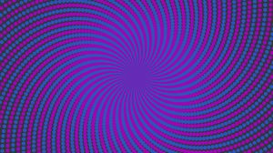 Preview wallpaper vortex, optical illusion, points, lines, swirling