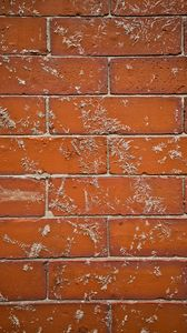 Preview wallpaper wall, brick, surface, texture, brown