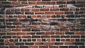 Preview wallpaper wall, brick, texture, paint