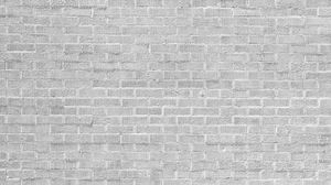 Preview wallpaper wall, brick, white, paint, texture