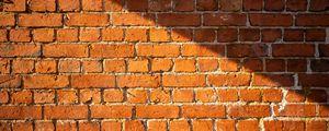 Preview wallpaper wall, bricks, rough, texture, brown