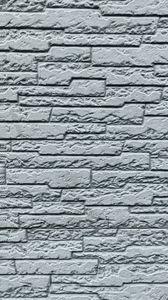 Preview wallpaper wall, bricks, rough, texture, gray