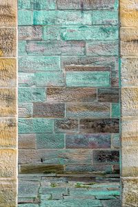 Preview wallpaper wall, bricks, surface, blue, texture
