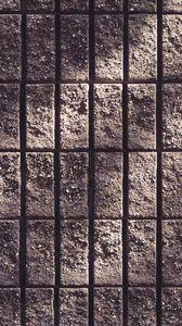 Preview wallpaper wall, concrete, stripes, rough, texture