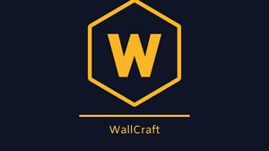 Preview wallpaper wallcraft, logo, brand, inscription