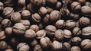 Preview wallpaper walnut, nut, shell