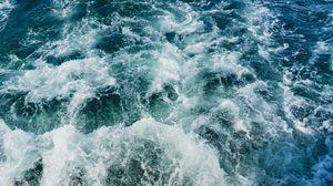 Preview wallpaper water, sea, foam, surf, spray
