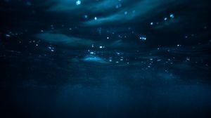 Preview wallpaper water, underwater, depth, blue