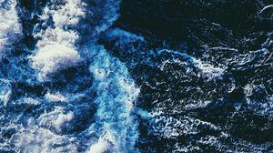 Preview wallpaper wave, spray, sea, swash