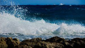 Preview wallpaper wave, surf, foam, spray