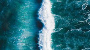 Preview wallpaper wave, surf, ocean, foam
