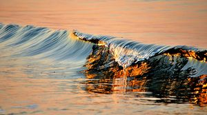 Preview wallpaper wave, water, surf, sea, wavy