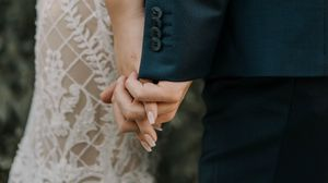 Preview wallpaper wedding, hands, love, touch, family