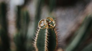 Preview wallpaper wedding, love, rings